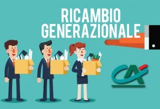 RICAMBIO GENERAZIONALE IN CRÉDIT AGRICOLE ITALIA