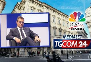 SILEONI A CLASS CNBC E TGCOM24