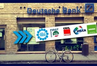 FABI CONTRARIA A NUOVI ESUBERI IN DEUTSCHE BANK ITALIA