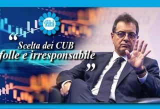 """SILEONI SULLO SCIOPERO GENERALE DI OGGI: """"SCELTA DEI CUB FOLLE E IRRESPONSABILE"""""""