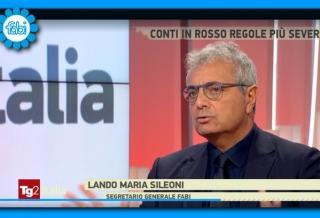 """SILEONI IN DIRETTA SU RAI DUE: CON DIRETTORI FILIALE SOLUZIONI PER STOP """"ROSSO"""""""