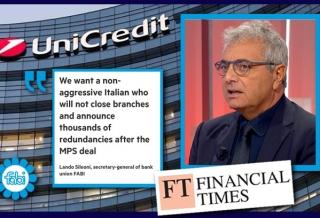 SILEONI AL FINANCIAL TIMES: «IN UNICREDIT UN ITALIANO CHE NON SIA AGGRESSIVO»