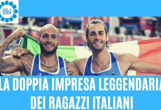 LA DOPPIA IMPRESA LEGGENDARIA DEI RAGAZZI ITALIANI