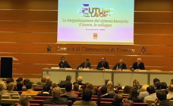 «IL FUTURO DEL LAVORO», SILEONI APPLAUDITO ALL'EVENTO FISAC TOSCANA