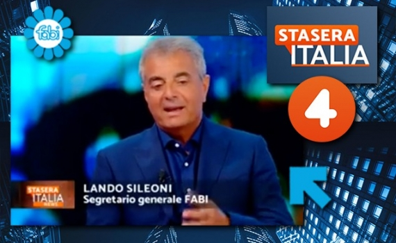 """SILEONI IN DIRETTA SU RETE4: """"SIAMO IN UN'ECONOMIA DI GUERRA"""""""