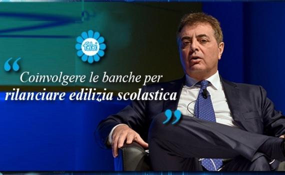 FABI: COINVOLGERE LE BANCHE PER RILANCIARE L'EDILIZIA SCOLASTICA