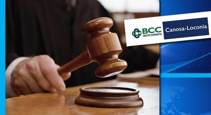 VITTORIA DEI SINDACATI CONTRO LA BCC CANOSA- LOCONIA