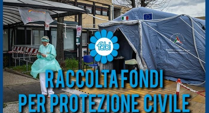 CORONAVIRUS, FABI LANCIA UNA RACCOLTA FONDI PER LA PROTEZIONE CIVILE