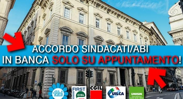IN BANCA SOLO SU APPUNTAMENTO IN TUTTA ITALIA