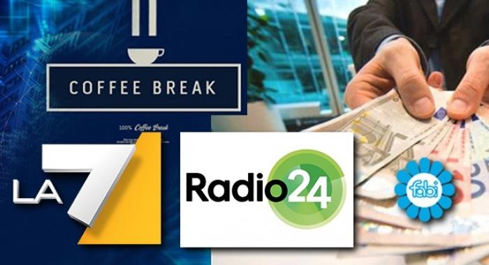 PRESTITI, LO STUDIO FABI A LA7 E RADIO24