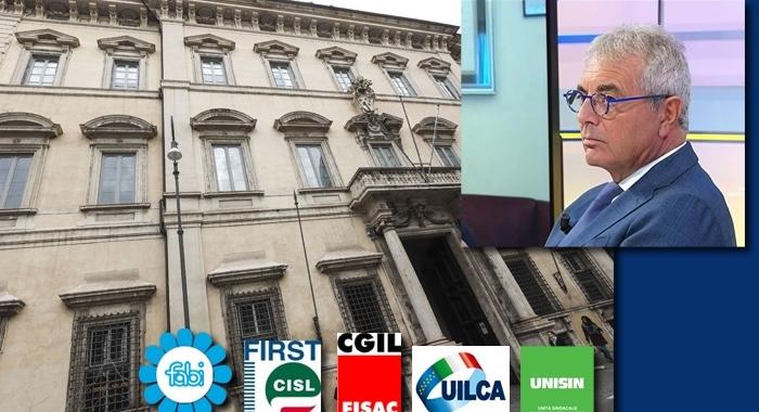 BANCHE, PRIMO SETTORE CON ASSEMBLEE SINDACALI DA REMOTO