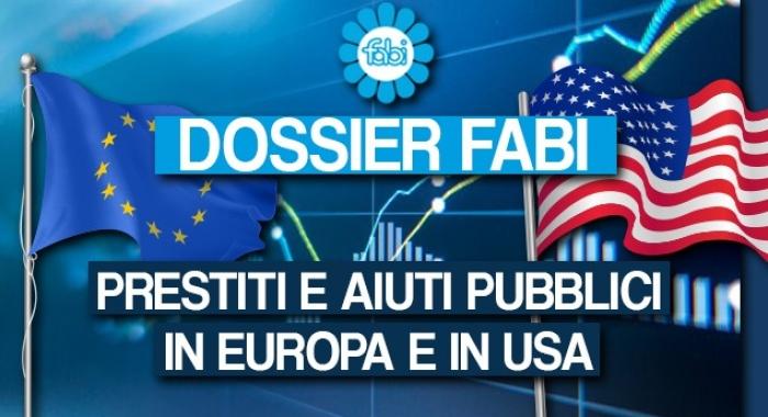 PRESTITI E AIUTI PUBBLICI, LA RISPOSTA IN EUROPA E IN USA
