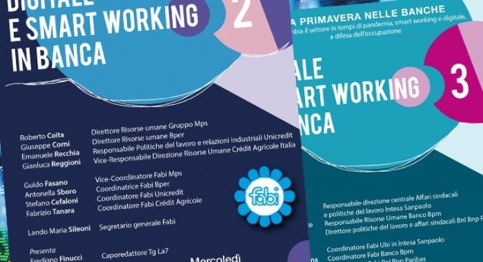 """DIGITALE E SMART WORKING, DOPPIO APPUNTAMENTO CON """"LA PRIMAVERA NELLE BANCHE"""""""