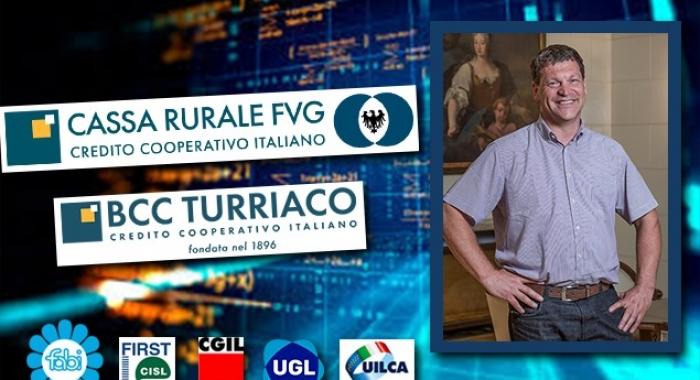 ACCORDO SULLA FUSIONE TRA CASSA RURALE FVG E BCC DI TURRIACO
