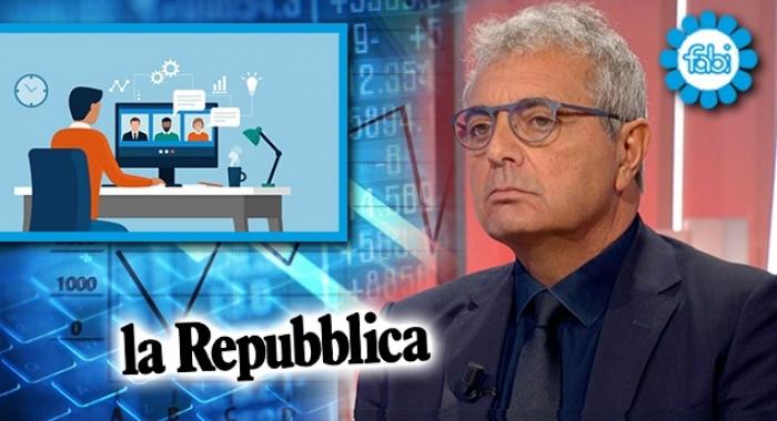 «PER ALCUNI RUOLI IN BANCA L'OPZIONE DELLO SMART WORKING È ESCLUSA»