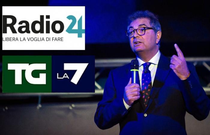 LO STUDIO DELLA FABI SU LA7 E RADIO24