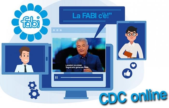 IL CDC FABI SI RIUNISCE IN VIDEOCONFERENZA