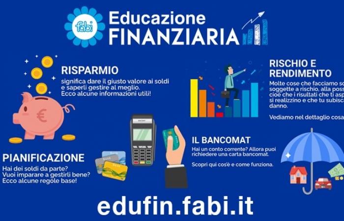EDUCAZIONE FINANZIARIA, UN SITO DELLA FABI PER SPIEGARE BANCHE E RISPARMIO